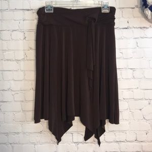 Speechless asymmetrical hem skirt